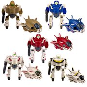 Robotech Super Deformed Morphers Mini-Figures 3-Pack