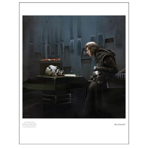 Star Wars: The Force Awakens Bloodline by Brian Rood Paper Giclee Art Print