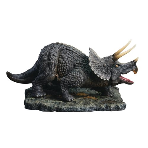 One Million Years BC Triceratops Polyresin Statue
