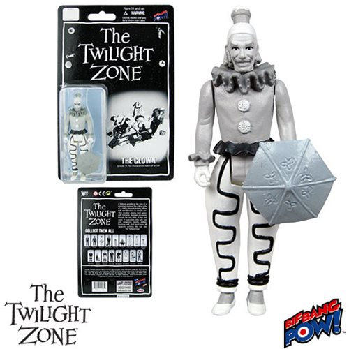 The Twilight Zone Five Characters in Search of an Exit Clown 3 3/4-Inch Action Figure Series 3