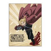 Fullmetal Alchemist Brotherhood: Ed Sublimation Throw Blanket