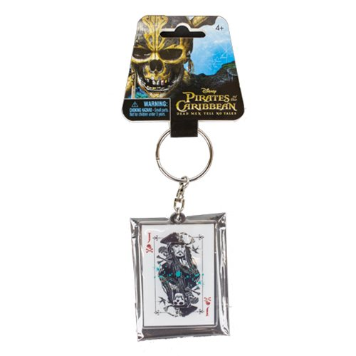 Pirates of the Caribbean: Dead Men Tell No Tales Jack Sparrow Acrylic Key Chain