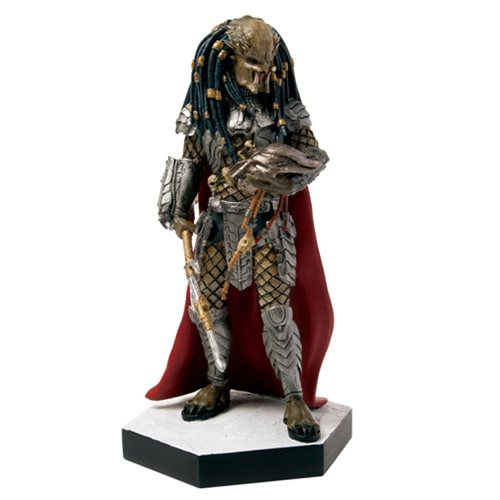 Alien Predator AVP Elder Predator Figure with Collector Magazine #16
