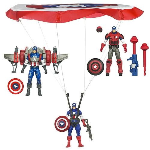 Captain America Movie Deluxe Figures Wave 1 Set