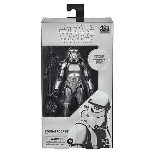 Star Wars The Black Series Carbonized Stormtrooper 6-Inch Action Figure