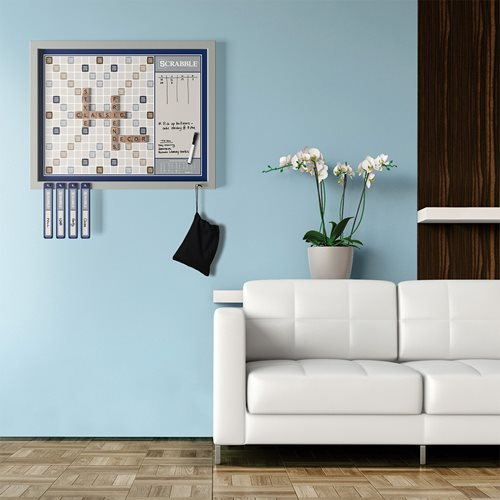 Scrabble Deluxe 2-in-1 Wall Edition