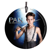 Pan: The Journey Begins Peter Pan StarFire Prints Hanging Glass Ornament