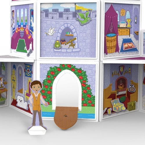 Magnetivity Medieval Castle Magnetic Building Play Set