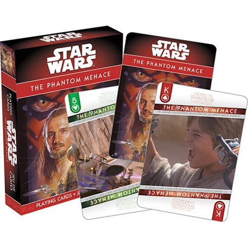 Star Wars: Episode I - Phantom Menace Playing Cards