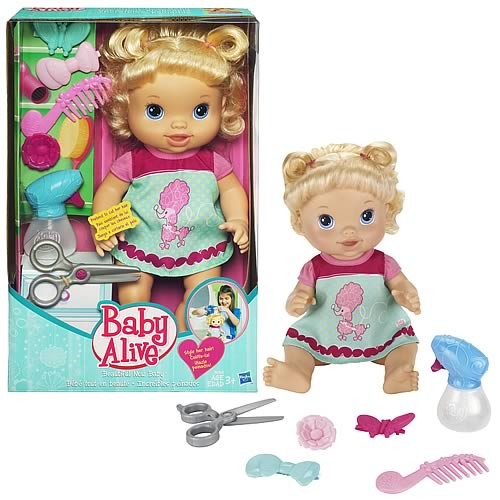 Baby Alive Beautiful Now Blonde Doll