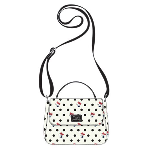 Hello Kitty Polka Dot Crossbody Purse