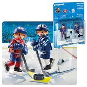Playmobil 9013 NHL Rivalry Series - MTL vs TOR Action Figure 2-Pack