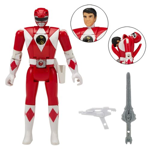 Power Rangers Legacy Mighty Morphin Red Ranger Head Morph Action Figure