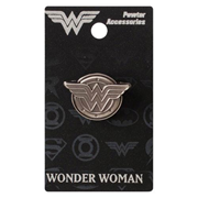 Wonder Woman Logo Pewter Lapel Pin