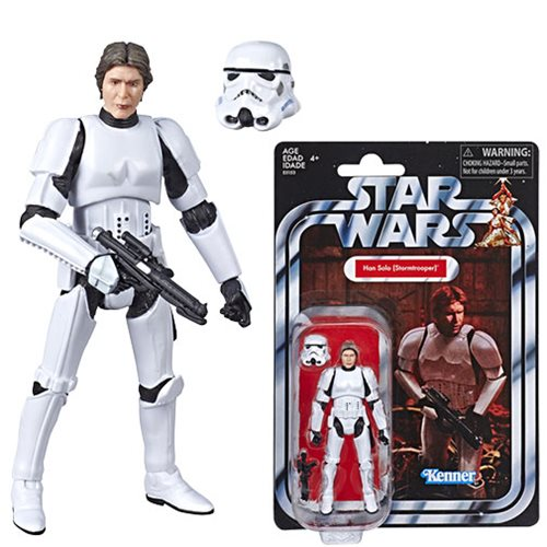 Star Wars The Vintage Collection Han Solo Stormtrooper 3 3/4-Inch Action Figure - Exclusive