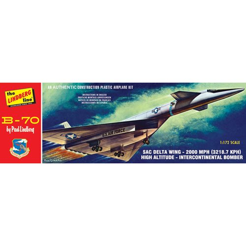 B-70 Bomber 1:172 Scale Model Kit