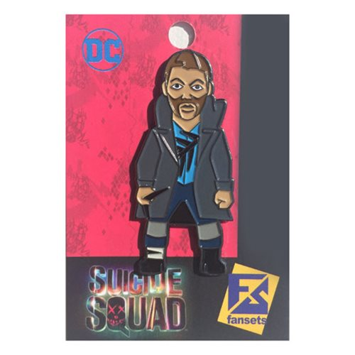 Suicide Squad Captain Boomerang Pin