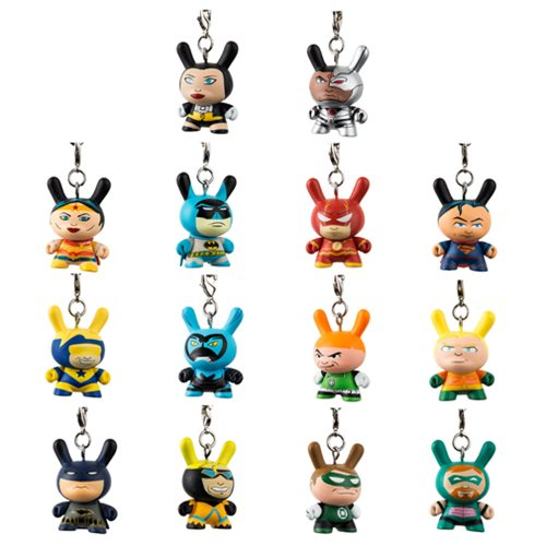 Justice League Dunny Key Chain Display Tray