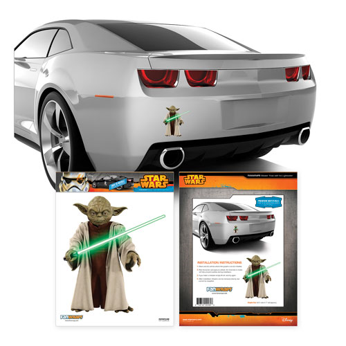 Star Wars Yoda Mini Vehicle Graphic