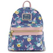 Lilo & Stitch And Scrump Floral Mini Backpack