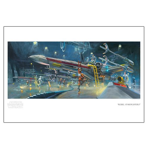 Star Wars Rebel Starfighters by Bryan Snuffer Paper Giclee Art Print