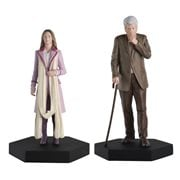 Doctor Who Romana and The Curator Figures