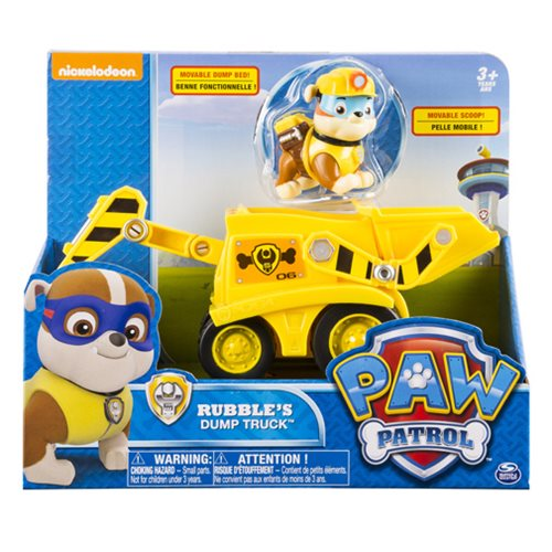 Paw Patrol Construction Vehicle with Rubble