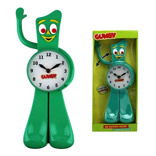 Gumby 13-Inch Motion Clock