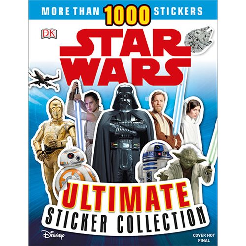 Star Wars Ultimate Sticker Collection Paperback Book