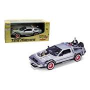 Back to the Future 3 DeLorean 1981 Time Machine Die-Cast Metal 1:24 Scale Vehicle