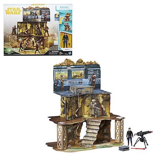 Star Wars Solo Force Link 2.0 Kessel Mine Escape Playset
