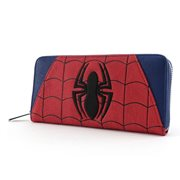 Spider-Man Red-and-Blue Zip-Around Wallet