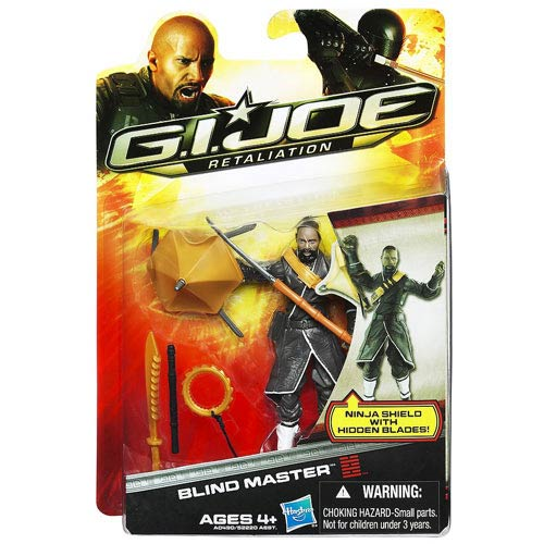 G.I. Joe Retaliation Blind Master Action Figure, Not Mint
