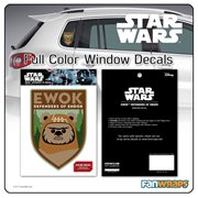 Star Wars Ewok Defenders of Endor Window Decal