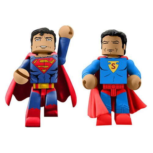 DC Comics 80th Anniversary Superman Vinimate 2-Pack - SDCC 2018 Previews Exclusive