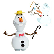 Disney Frozen Switch-Em-Up Olaf Figure