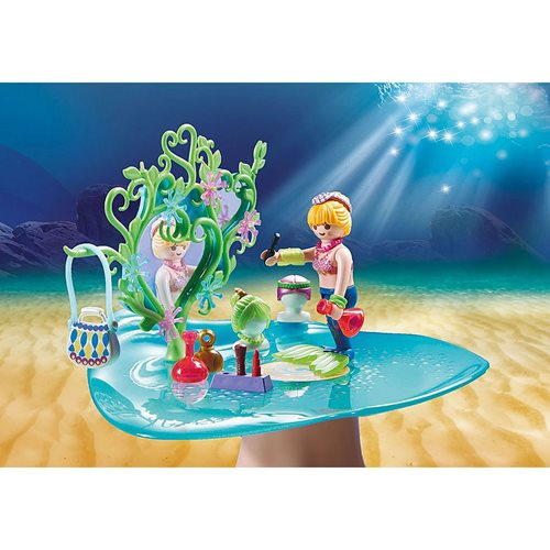 Playmobil 70096 Magical Mermaids Beauty Salon with Jewel Case