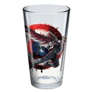 Captain America: Civil War Falcon Toon Tumbler Pint Glass
