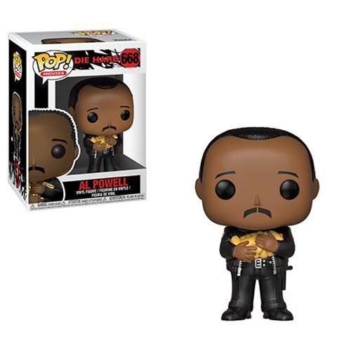 Die Hard Al Powell Pop! Vinyl Figure #668, Not Mint