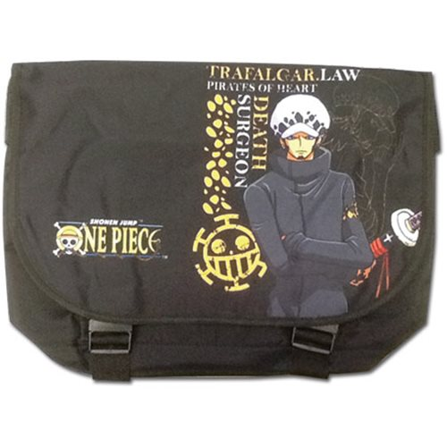 One Piece Law Messenger Bag