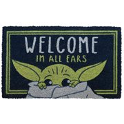 Star Wars The Mandalorian I'm All Ears Coir Doormat