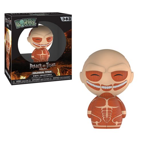Attack on Titan Colossal Titan Dorbz Vinyl Figure #383