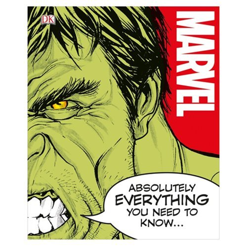 Marvel Absolutely Everything You Need to Know Hardcover Book