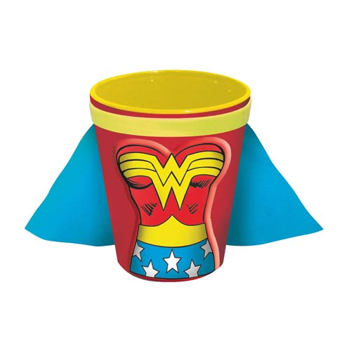 Wonder Woman Molded Caped Shot Glass