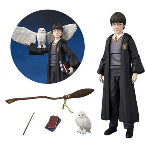 Harry Potter and the Sorcerer's Stone Harry Potter SH Figuarts Action Figure, Not Mint