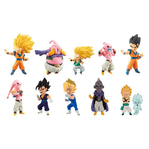 Dragon Ball WCF Buu Saga Mystery Figure Coll. Display Box
