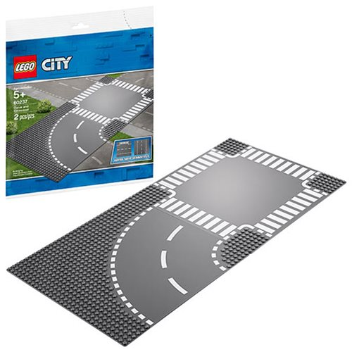 LEGO 60237 City Curve and Crossroad