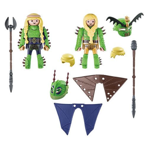 Playmobil 70042 Dragons Ruffnut and Tuffnut with Flight Suit