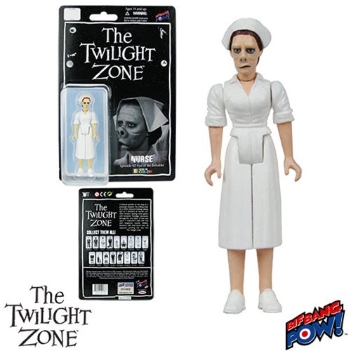 The Twilight Zone Eye of the Beholder Nurse 3 3/4-Inch Action Figure In Color Series 2