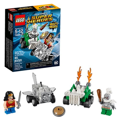 LEGO DC Comics 76070 Mighty Micros Wonder Woman vs. Doomsday